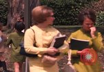 Image of American students Los Angeles California USA, 1968, second 59 stock footage video 65675073331