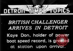 Image of Speedboat racing Detroit Michigan USA, 1931, second 2 stock footage video 65675073335