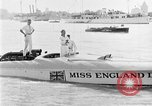 Image of speedboat racing Detroit Michigan USA, 1931, second 33 stock footage video 65675073336