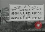 Image of Reserve airmen South Carolina United States USA, 1964, second 38 stock footage video 65675073404