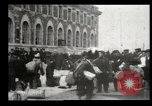 Image of Newly arriving immigrants to America  Ellis Island New York USA, 1906, second 15 stock footage video 65675073417