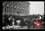 Image of Newly arriving immigrants to America  Ellis Island New York USA, 1906, second 16 stock footage video 65675073417