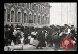 Image of Newly arriving immigrants to America  Ellis Island New York USA, 1906, second 17 stock footage video 65675073417