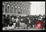 Image of Newly arriving immigrants to America  Ellis Island New York USA, 1906, second 19 stock footage video 65675073417