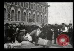 Image of Newly arriving immigrants to America  Ellis Island New York USA, 1906, second 20 stock footage video 65675073417