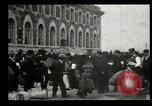 Image of Newly arriving immigrants to America  Ellis Island New York USA, 1906, second 22 stock footage video 65675073417