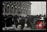 Image of Newly arriving immigrants to America  Ellis Island New York USA, 1906, second 23 stock footage video 65675073417