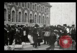 Image of Newly arriving immigrants to America  Ellis Island New York USA, 1906, second 24 stock footage video 65675073417