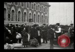 Image of Newly arriving immigrants to America  Ellis Island New York USA, 1906, second 26 stock footage video 65675073417