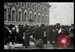 Image of Newly arriving immigrants to America  Ellis Island New York USA, 1906, second 27 stock footage video 65675073417