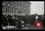 Image of Newly arriving immigrants to America  Ellis Island New York USA, 1906, second 29 stock footage video 65675073417