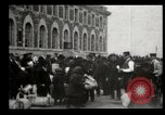 Image of Newly arriving immigrants to America  Ellis Island New York USA, 1906, second 30 stock footage video 65675073417