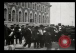 Image of Newly arriving immigrants to America  Ellis Island New York USA, 1906, second 33 stock footage video 65675073417