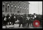 Image of Newly arriving immigrants to America  Ellis Island New York USA, 1906, second 34 stock footage video 65675073417
