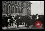 Image of Newly arriving immigrants to America  Ellis Island New York USA, 1906, second 35 stock footage video 65675073417