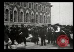 Image of Newly arriving immigrants to America  Ellis Island New York USA, 1906, second 37 stock footage video 65675073417
