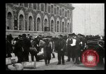 Image of Newly arriving immigrants to America  Ellis Island New York USA, 1906, second 38 stock footage video 65675073417