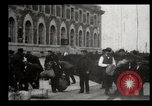 Image of Newly arriving immigrants to America  Ellis Island New York USA, 1906, second 40 stock footage video 65675073417