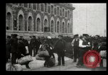 Image of Newly arriving immigrants to America  Ellis Island New York USA, 1906, second 41 stock footage video 65675073417