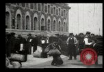 Image of Newly arriving immigrants to America  Ellis Island New York USA, 1906, second 42 stock footage video 65675073417