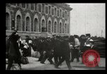 Image of Newly arriving immigrants to America  Ellis Island New York USA, 1906, second 45 stock footage video 65675073417