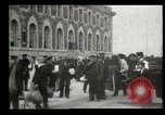Image of Newly arriving immigrants to America  Ellis Island New York USA, 1906, second 46 stock footage video 65675073417