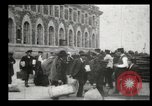 Image of Newly arriving immigrants to America  Ellis Island New York USA, 1906, second 48 stock footage video 65675073417