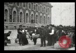 Image of Newly arriving immigrants to America  Ellis Island New York USA, 1906, second 50 stock footage video 65675073417