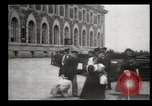 Image of Newly arriving immigrants to America  Ellis Island New York USA, 1906, second 55 stock footage video 65675073417