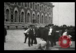 Image of Newly arriving immigrants to America  Ellis Island New York USA, 1906, second 56 stock footage video 65675073417