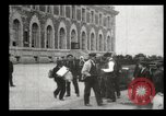 Image of Newly arriving immigrants to America  Ellis Island New York USA, 1906, second 57 stock footage video 65675073417