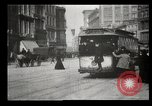 Image of New York City street scene early 1900s New York City USA, 1903, second 27 stock footage video 65675073418