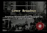 Image of Lower Broadway New York City USA, 1903, second 2 stock footage video 65675073419