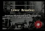 Image of Lower Broadway New York City USA, 1903, second 3 stock footage video 65675073419
