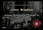 Image of Lower Broadway New York City USA, 1903, second 9 stock footage video 65675073419