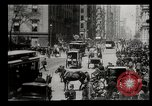 Image of Lower Broadway New York City USA, 1903, second 22 stock footage video 65675073419
