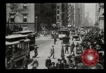 Image of Lower Broadway New York City USA, 1903, second 42 stock footage video 65675073419