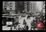 Image of Lower Broadway New York City USA, 1903, second 46 stock footage video 65675073419