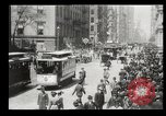 Image of Lower Broadway New York City USA, 1903, second 48 stock footage video 65675073419