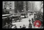 Image of Lower Broadway New York City USA, 1903, second 58 stock footage video 65675073419