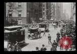Image of Lower Broadway New York City USA, 1903, second 59 stock footage video 65675073419