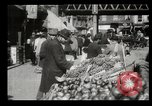 Image of Street peddlers in New York City New York City USA, 1903, second 10 stock footage video 65675073422