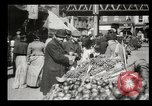 Image of Street peddlers in New York City New York City USA, 1903, second 14 stock footage video 65675073422