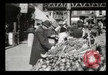 Image of Street peddlers in New York City New York City USA, 1903, second 21 stock footage video 65675073422