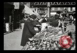 Image of Street peddlers in New York City New York City USA, 1903, second 22 stock footage video 65675073422