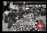 Image of Street peddlers in New York City New York City USA, 1903, second 27 stock footage video 65675073422