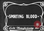 Image of Sporting Blood paper print Saint Louis Missouri USA, 1904, second 1 stock footage video 65675073429