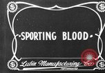 Image of Sporting Blood paper print Saint Louis Missouri USA, 1904, second 5 stock footage video 65675073429