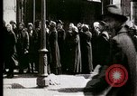 Image of Busy Russian street with pedestrians and streetcar Russia Soviet Union, 1920, second 2 stock footage video 65675073436