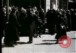 Image of Busy Russian street with pedestrians and streetcar Russia Soviet Union, 1920, second 4 stock footage video 65675073436